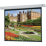 "Da-Lite Designer Contour Electrol Electric Projection Screen - 136"" - 1:1 - Wall Mount, Ceiling Mount 92664W"