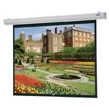 "Da-Lite Designer Contour Electric Projection Screen - 84"" - 4:3 - Wall Mount, Ceiling Mount 89738W"