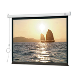 "Da-Lite Slimline Electric Projection Screen - 92"" - 16:9 - Wall Mount, Ceiling Mount 95633"