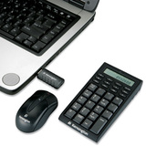 Kensington 72273 Wireless Notebook Keypad and Mouse - PC & MAC Compatible