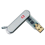 Victorinox AG 53996 1GB SwissMemory USB 2.0 Flash Drive