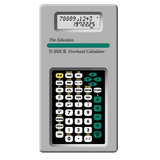 Stokes Publishing TI-30XII Overhead Calculator