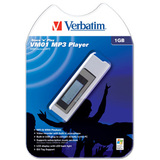 Verbatim Store 'n' Play VM-01 512MB MP3 Player - Voice Recorder - 512MB Flash Memory - LCD