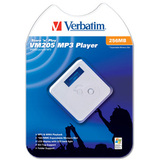 Verbatim Store 'n' Play VM-205 256MB MP3 Player - 256MB Flash Memory - LCD