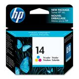 HP No. 14 Tri-color Ink Cartridge