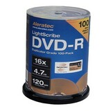 Aleratec LightScribe 16x DVD-R Media