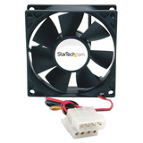 StarTech.com 80x25mm Ever Lubricate Bearing PC Computer Case Fan w/ LP4 Connector FANBOXSL