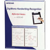 Solidtek ACECAD DigiMemo Handwriting Recognition MyScript Notes for ACECAD - Complete Product - 1 User DM-OCR