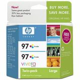 HP No. 97 Twinpack Tri-color Ink Cartridge