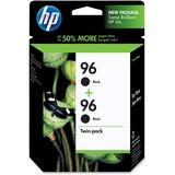HP No. 96 Twinpack Black Ink Cartridge - Inkjet - 860 Page - Black