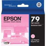 Epson #79 Light Magenta High Capacity Ink Cartridge for Stylus Photo 1400