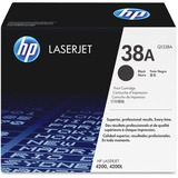 HP No. 38A Black Toner Cartridge
