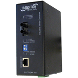 Transition Networks Industrial Fast Ethernet to Fiber Media Converter