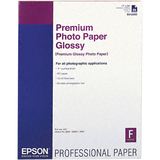 Premium Photo Paper, 68 lbs., High-Gloss, 17 x 22, 25 Sheets/Pack  MPN:S042092