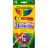 Crayola Binney & Smith Crayola Erasable Colored Pencil Set