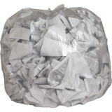 Genuine Joe Clear Flat Bottom Trash Can Liners 01015