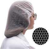 Bunzl Nylon Hairnet - Medium Size - Nylon - 100 / Box - White