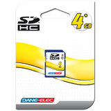 Dane-Elec 4GB Secure Digital Card