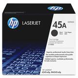 HP No. 45A Black Toner Cartridge - Q5945AG