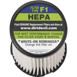 TTI Dirt Devil F1 Universal HEPA Vacuum Filter