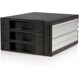 3 Drive 3.5in Trayless SATA Mobile Rack - HSB320SATBK