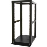 StarTech.com 25U 4 Post Server Open Frame Rack Cabinet 4POSTRACK25