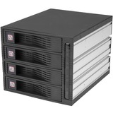 4 Drive 3.5in Trayless SATA Mobile Rack - HSB430SATBK