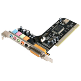 StarTech.com 5 Channel PCI Sound Adapter Card & Audio