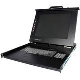 StarTech.com 1U 15 Rackmount LCD Console - USB + PS/2 RACKCONS1501