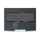 HP 1U Rackmount Keyboard with USB Hub