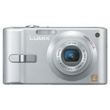 "Panasonic Lumix DMC-FX10 Digital Camera - Silver - 6 Megapixel - 16:9 - 4x Digital Zoom - 2.5"" Active Matrix TFT Color LCD"