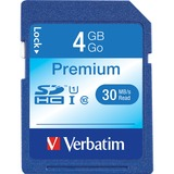 Verbatim 4GB Secure Digital High Capacity (SDHC) Card - (Class 6)