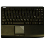 Adesso AKB-410PB Slim Touch Mini Keyboard with Built in Touchpad