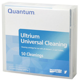 Quantum LTO Ultrium Universal Prelabeled Cleaning Cartridge MR-LUCQN-BC