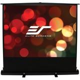 "Elite Screens ezCinema Plus F84XWV1 Manual Projection Screen - 84"" - 4:3 - Floor Mount, Portable F84XWV1"