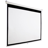 "AccuScreens Manual Projection Screen - 84"" - 4:3 - Wall Mount, Ceiling Mount 800010"