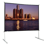 Da-Lite Heavy Duty Fast-Fold Deluxe Portable Projection Screen 88621HD