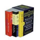 Houghton Mifflin Dictionary / Thesaurus / Writer's Companion Essential Paperback Desk Reference Set