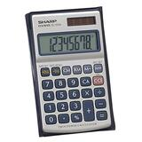 Sharp EL326SB Twin Power Metal Calculator
