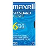 Maxell 213030 Standard Grade VHS Videocassette 213030