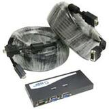 Cables To Go Monitor Splitter/Extender and HD-15 Monitor Cable Kit