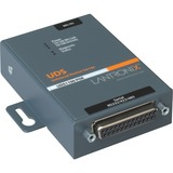 Lantronix One Port Serial (RS232/ RS422/ RS485) to IP Ethernet Device Server with Power Over Ethernet (PoE)