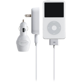Belkin Auto/AC/USB Charger for iPod (White)