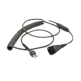 Motorola Standard Undecoded Coiled Cable