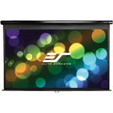 Elite Screens Manual Pull Down Projection Screen - M120UWV2