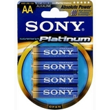 Sony STAMINA AM3PTB4A Platinum Alkaline AA Size General Purpose Battery AM3PTB4A