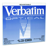 "Verbatim 5.25"" Magneto Optical Media 89109"