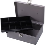 Sparco All-Steel Cash Box with Latch Lock 15501