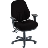 Lorell Baily High Back Task Chair - 27' x 26' x 42.5' - Black Seat