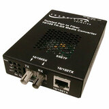 Transition Networks SSETF1013-205 RJ-45 To SC Media Converter
